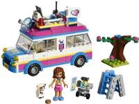 Lego Friends : Olivian tehtäväauto - LEGO Friends 41333