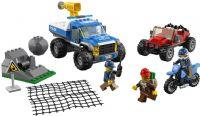 Lego City : Dirt Road Pursuit - LEGO City Police 60172