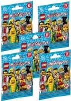 Lego Shop Minifigurer : Minifigurer 2017 serie 17 - 5 pak - LEGO 71018 Minifigurer