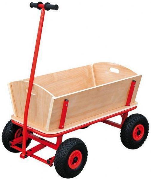 Trækvogn i Træ Maxi