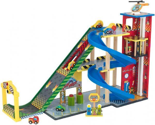 Image of Legegarage med rampe (226-063267)