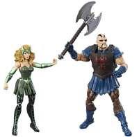 Actionfigurer : Enchantress og Executioner figurer - Marvel Thor Ragnarok figurer C2042