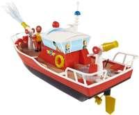 Laivat : Palomies Sami Radio-ohjattava Titan-vene ja hahmot - Brandmand Sam fjernstyret skib 037894