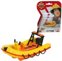 Brandman Sam Leksaker : Neptune die cast båd - Brandmand Sam små biler 48470B