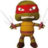 Ninja Turtles Børnelamper : Turtles Raphael godnat bamse med lys - Turtles Natlampe 643891
