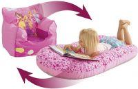Worlds Apart Borde og stole : Disney Princess lænestol oppustelig - Disney Prinsesse børnemøbler 653852