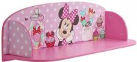 Worlds Apart Reoler og skabe : Minnie Mouse boghylde - Disney Minnie Mouse bogreol 654651