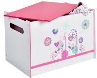 Worlds Apart Kister og opbevaring : Flower legetøjskiste - Blomster børnemøbler 658598