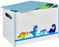 Worlds Apart Kister og opbevaring : Dinosaur legetøjskiste - Dinosaur børnemøbler 658666