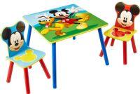 Borde og stole : Mickey Mouse bord og stolesæt - Disney Mickey Børnemøbler 661703