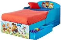 Sängar för barn : Paw Patrol juniorsäng m. madrass - Paw Patrol Børnemøbler 662083
