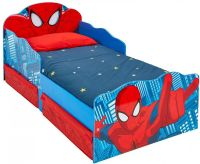 Spiderman : Spider-Man juniorseng m. madras - Spiderman børnemøbler 663554