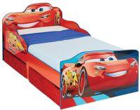 Sängar för barn : Lynet McQueen juniorsäng m. madras - Disney Cars Børnemøbler 663561