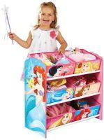 Disney Princess : Disney Princess hylly ja 6 laatikkoa - Disney Princess Børnemøbel 663615