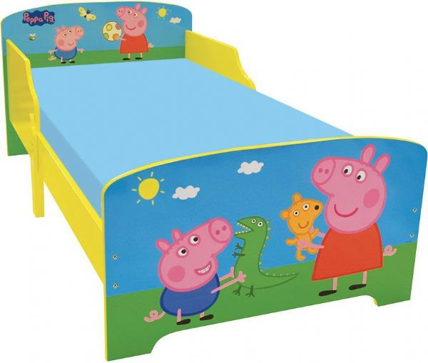 Gurli Gris Juniorseng u. madras - Gurli gris børneseng 712843