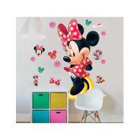 Wallstickers : Minnie Mouse wallstickers - Walltastic Disney Minnie børneværelse 44