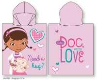 Doc McStuffins : Doc Mcstuffins poncho - Doc Mcstuffins Poncho 23107