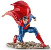 Actionfigurer : Superman, knælende - Schleich Superman Justice League 22505