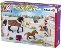 Adventskalender : Schleich Julekalender Heste 2017 - Schleich 97447