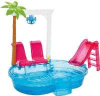 Barbie : Barbie Glam Pool - Barbie tilbehør DGW22