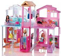 Barbie : Barbie Malibu Townhouse - Barbie Dukkehus DLY32