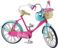 Barbie Dukker : Barbie cykel med tilbehør - Barbie dukke DVX55