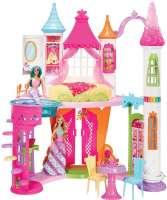 Barbie : Barbie Dreamtopia Sweetvile dukkehus - Barbie dukkehus DYX32