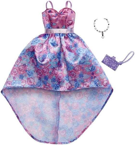 fad37a42e37f Barbie blomstret Gallakjole - Barbie dukketøj FXJ17 Shop - Eurotoys ...