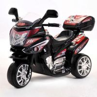 Elbiler og motorcykler 6V : Azeno Night Rider Black motorcykel 6V - Elbil til børn 087829