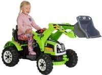 Elbilar : Azeno Power Traktor 12V - Elbil til børn 132860