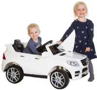Elbilar : Mercedes ML-350 12V - Elbil til børn 350042