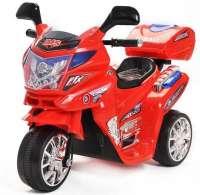 Elbiler og motorcykler 6V : Azeno Night Rider Red motorcykel 6V - Elbil til børn 389601
