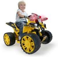 El Biler : BumbleBee elmotorcykel 12v - Injusa El Biler Quad 76109