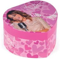 Violetta : Violetta hjertebox m. musik - Violetta hjerte smykkeskrin 63048