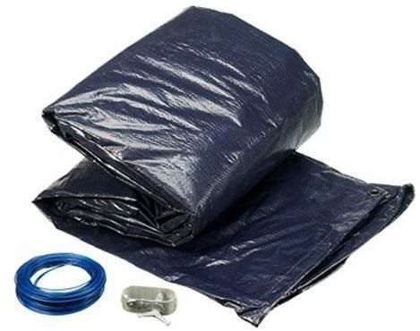 Image of Pool cover oval vinter 7,3 x 3,75 m (321-004955)