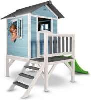 Lekehus : Lodge legehus xl blå - Sunny legehus Lodge 500201