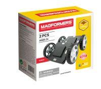 Magformers byggeklodser : Magformers Hjulsæt - Magformers Wheels Set byggeklodser 36050