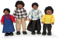 Tidlo : Dukke familie - Tidlo dukker 001250