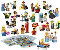 Lego Shop Minifigurer : Minifigurer Arbeidere - Lego Education 45022