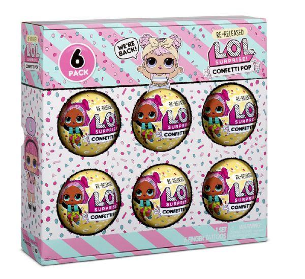 Image of LOL Surprise 6-Pack Confetti Dawn (374-571612)
