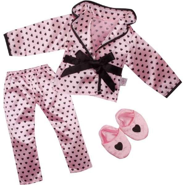 17c4a78110a Lyserød Pyjamas Outfit 46 cm - DesignaFriend 533624 Shop - Eurotoys ...
