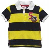 Lego Wear / Lego Tøj / Legotøj Polo Shirt : Lego Wear Duplo Polo Shirt - Børnetøj Strong Yellow 13496-224