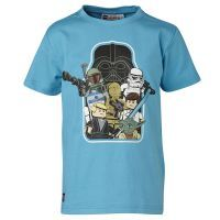 Lego Wear barnkläder : Lego Wear T-shirt - Børnetøj Turquise 15735-741
