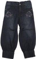 Minymo : Minymo bukser - Børnetøj Dark blue denim 120-73-1214-795