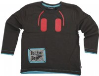 Minymo : Minymo T-shirt m. lange ærmer - Børnetøj Raven 120-72-0156-72891