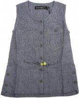 Minymo : Minymo Skjortebluse - Børnetøj Washed Denim