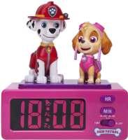 Paw Patrol : Paw Patrol Alarm Clock Marshall and Skye - Paw Patrol Børneur 65315
