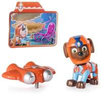 Paw Patrol : Zuma Light Up Sea Patrol - Paw Patrol Light Up figur 88688