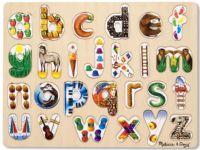 Pussel : English Alphabet Art (LC) - Melissa & Doug legetøj 10083
