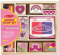 Hobby : Friendship Stamp Set - Træ legetøj 11632